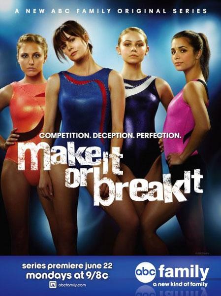 Make it or Break it : Foto Ayla Kell, Cassie Scerbo, Chelsea Hobbs, Josie Loren