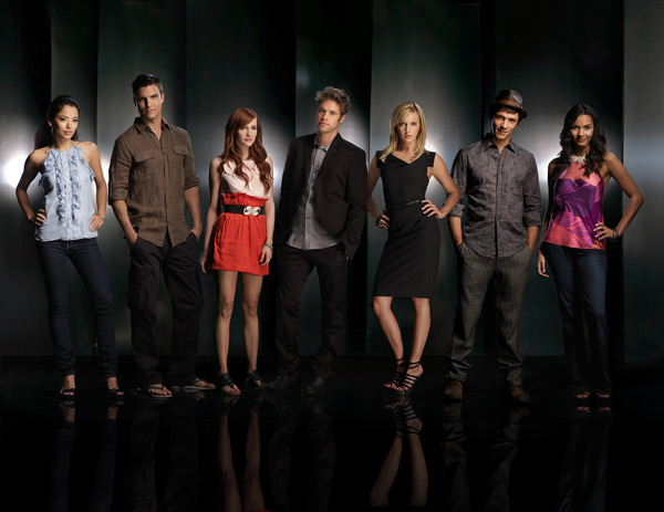 Melrose Place (2009) : Foto Ashlee Simpson, Colin Egglesfield, Katie Cassidy, Michael Rady, Shaun Sipos