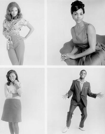 Por Que o Amor Enlouquece : Foto Gregory Nava, Halle Berry, Larenz Tate, Lela Rochon, Vivica A. Fox