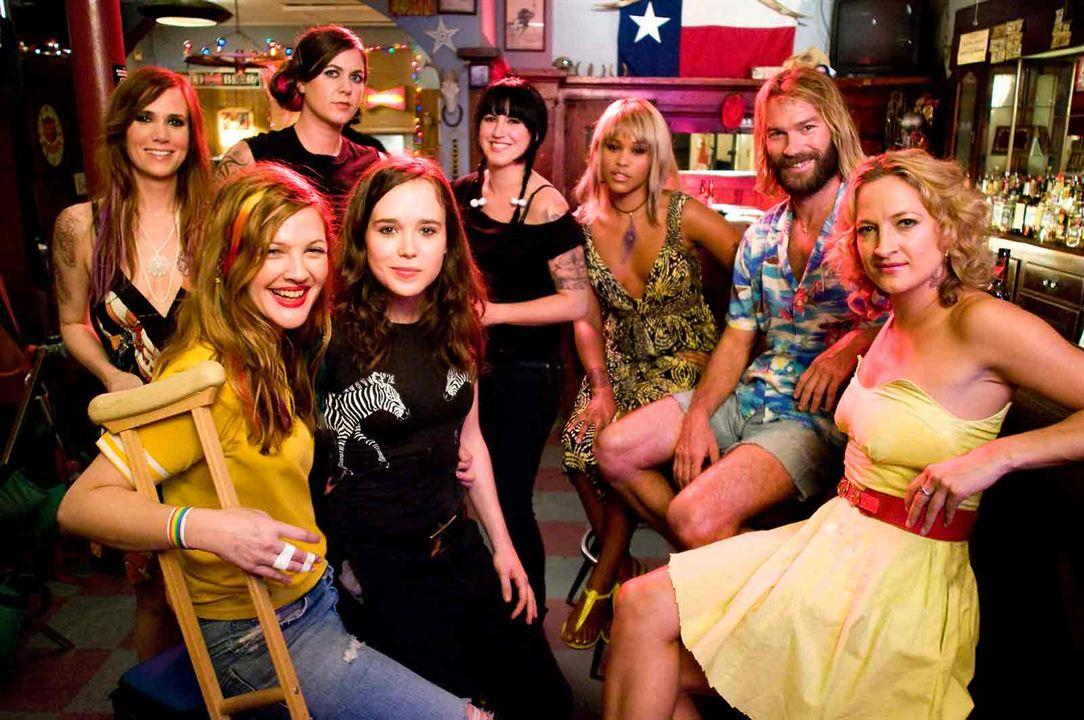 Garota Fantástica : Foto Andrew Wilson, Drew Barrymore, Ellen Page, Kristen Adolfi, Kristen Wiig