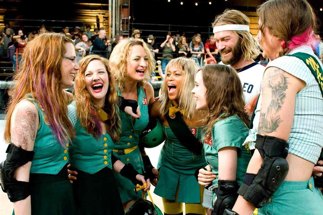 Garota Fantástica : Foto Andrew Wilson, Drew Barrymore, Ellen Page, Kristen Wiig