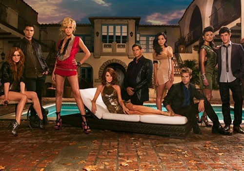Melrose Place (2009) : Foto Ashlee Simpson, Colin Egglesfield, Jessica Lucas, Katie Cassidy, Laura Leighton