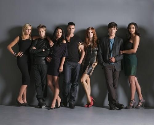 Melrose Place (2009) : Foto Ashlee Simpson, Colin Egglesfield, Jessica Lucas, Katie Cassidy, Michael Rady