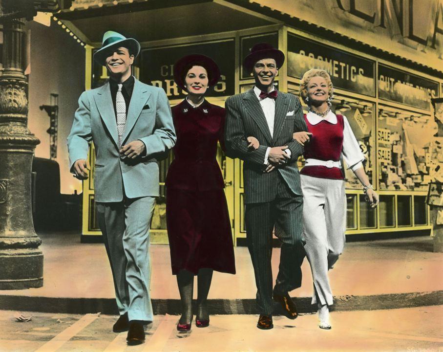 Eles e Elas : Foto Frank Sinatra, Jean Simmons, Marlon Brando, Vivian Blaine