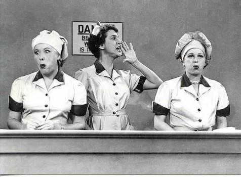 I Love Lucy : Foto Elvia Allman, Lucille Ball, Vivian Vance