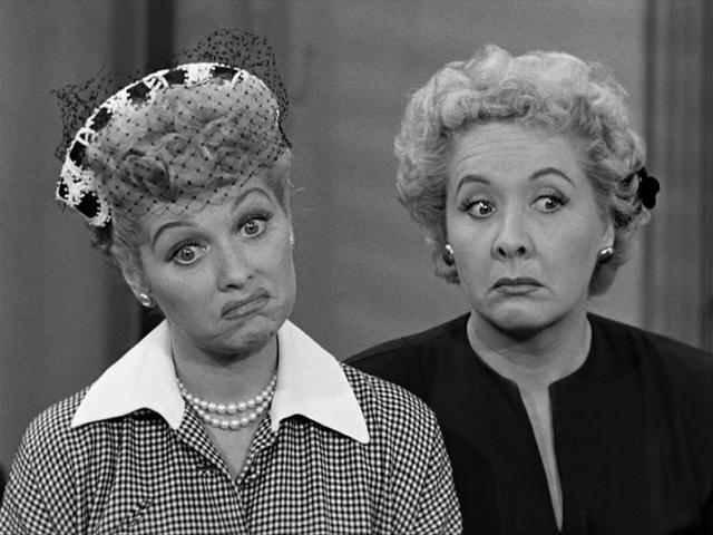 I Love Lucy : Foto Lucille Ball, Vivian Vance
