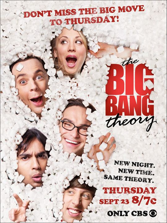 The Big Bang Theory : Foto Jim Parsons, Johnny Galecki, Kaley Cuoco, Simon Helberg