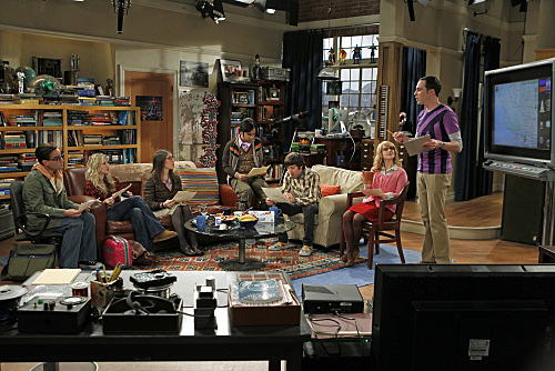 The Big Bang Theory : Foto Jim Parsons, Johnny Galecki, Kaley Cuoco, Kunal Nayyar, Mayim Bialik
