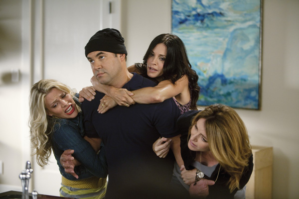 Cougar Town : Foto Busy Philipps, Christa Miller-Lawrence, Courteney Cox, Ian Gomez