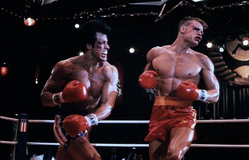 Rocky 4: Dolph Lundgren, Sylvester Stallone