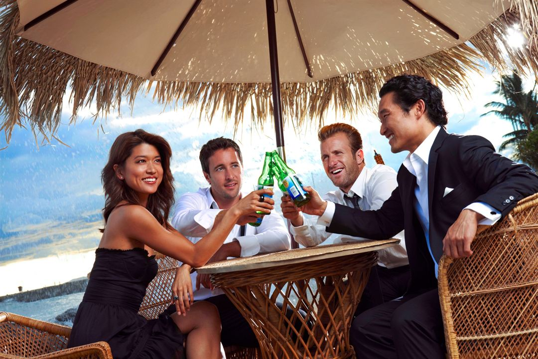 Hawaii Five-0 : Foto Alex O'Loughlin, Daniel Dae Kim, Grace Park, Scott Caan