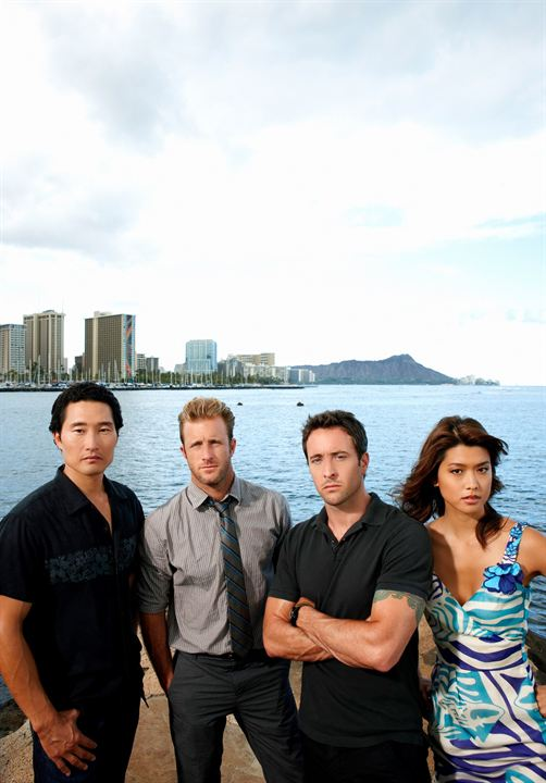 Hawaii Five-0 : Foto Alex O'Loughlin, Daniel Dae Kim, Grace Park, Scott Caan