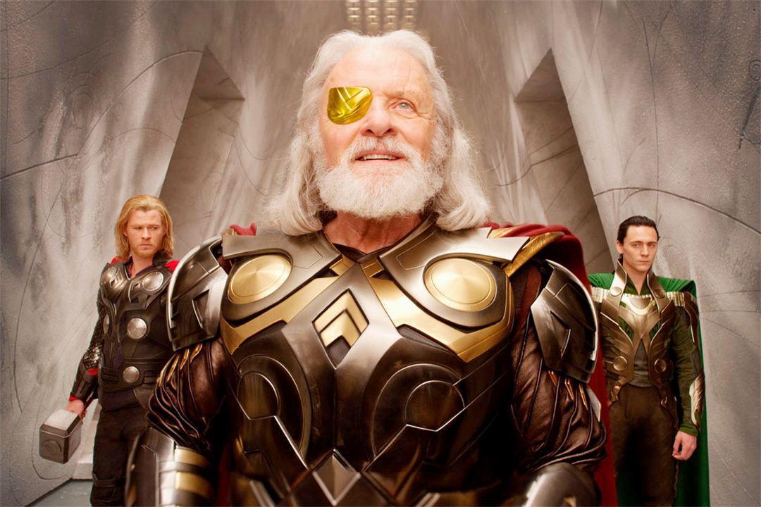 Thor : Foto Anthony Hopkins, Chris Hemsworth