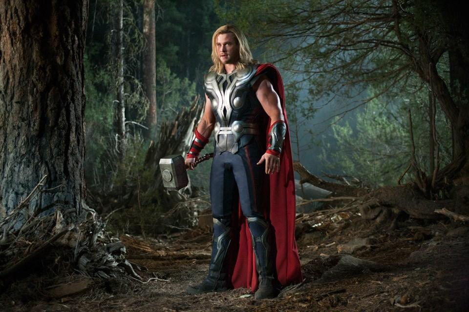 Os Vingadores - The Avengers : Foto Chris Hemsworth