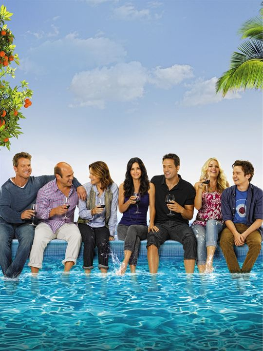 Cougar Town : Foto Brian Van Holt, Busy Philipps, Christa Miller-Lawrence, Courteney Cox, Dan Byrd
