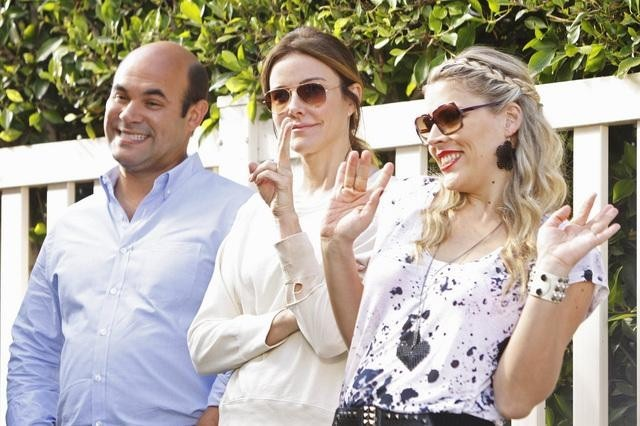 Cougar Town : Foto Busy Philipps, Christa Miller-Lawrence, Ian Gomez
