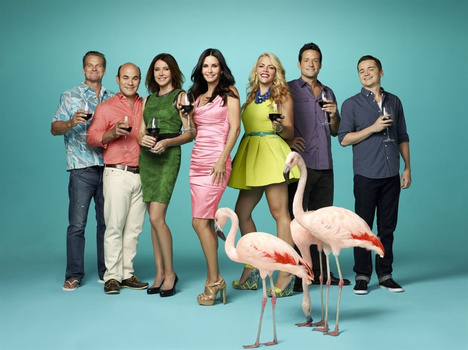Foto Brian Van Holt, Busy Philipps, Christa Miller-Lawrence, Courteney Cox, Dan Byrd