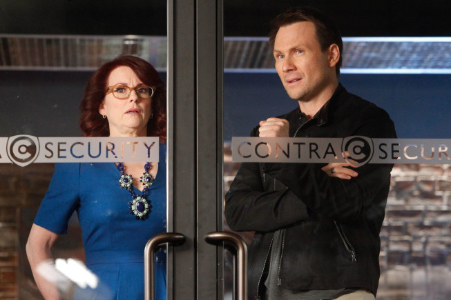 Foto Christian Slater, Megan Mullally