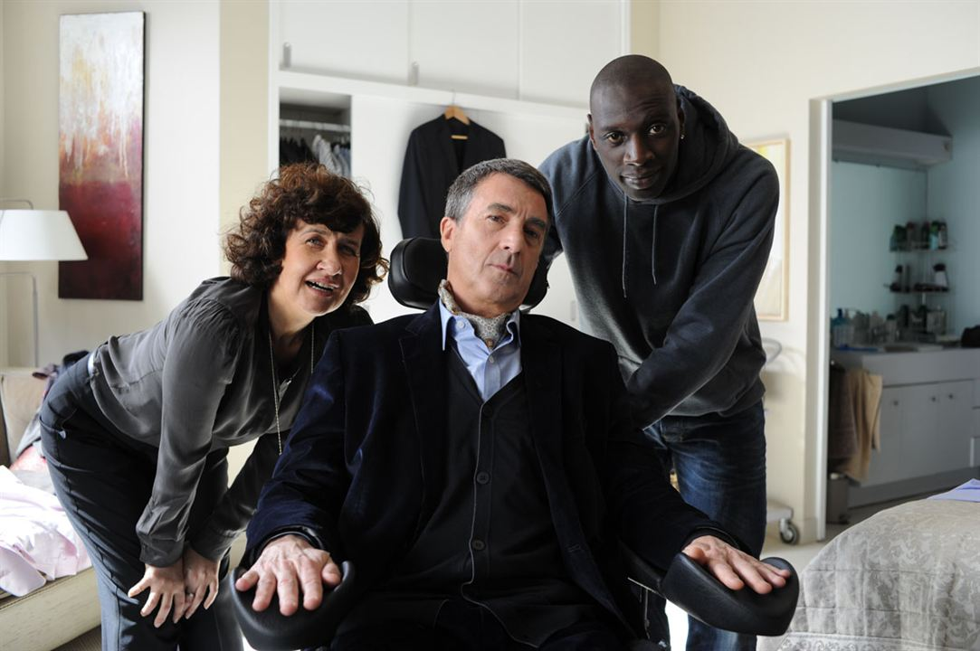 Intocáveis : Foto Anne Le Ny, François Cluzet, Omar Sy