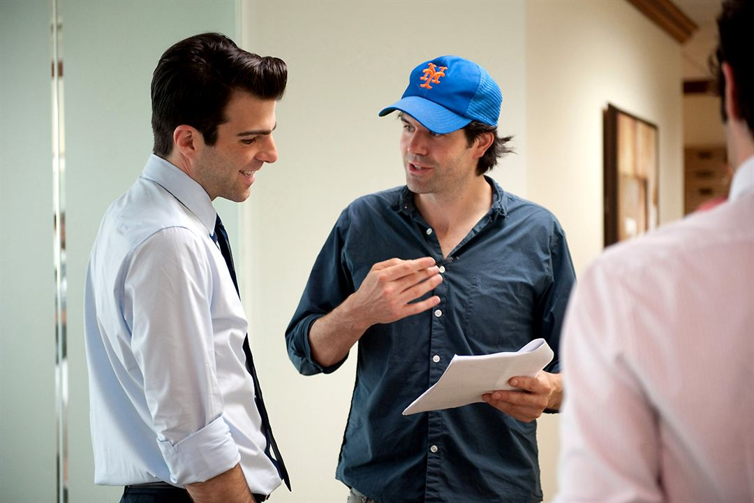 Margin Call - O Dia Antes do Fim : Foto J.C. Chandor, Zachary Quinto