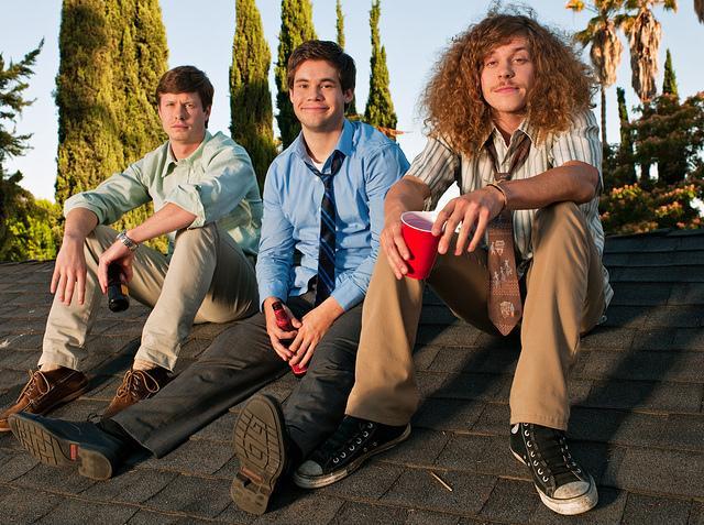 Workaholics : Foto Adam DeVine, Anders Holm, Blake Anderson