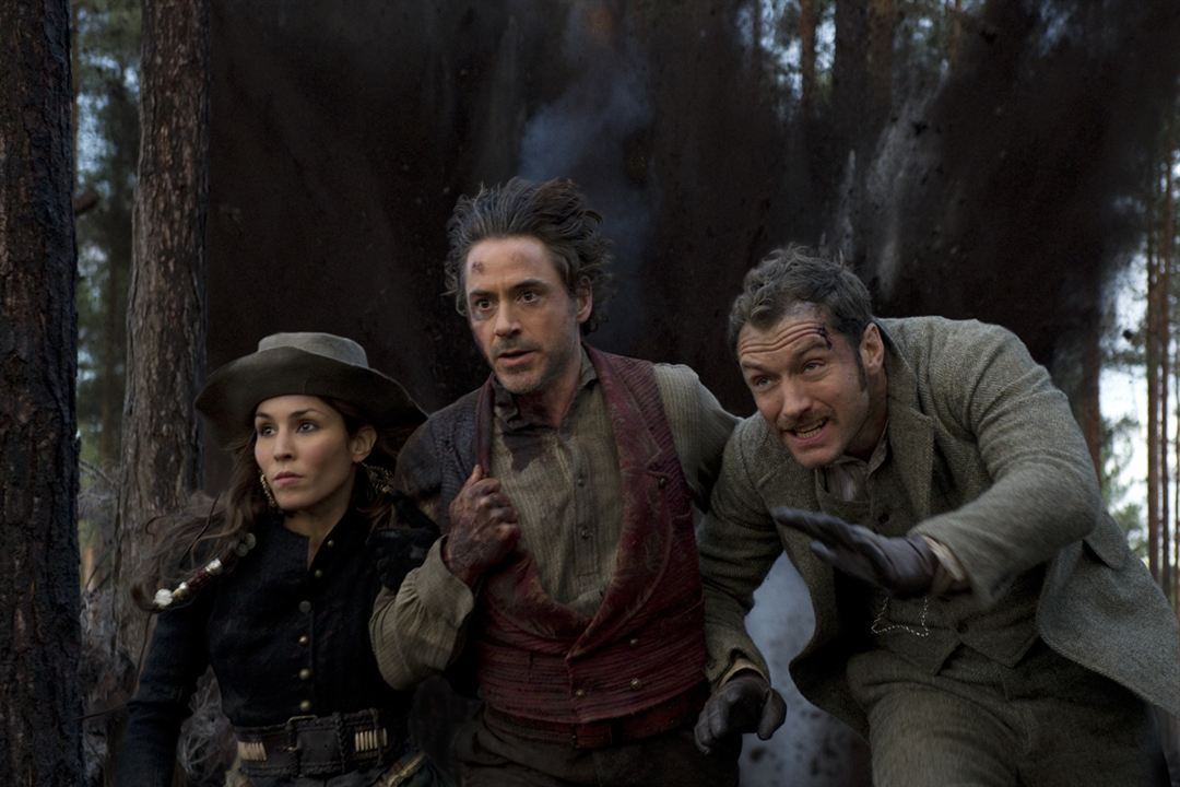 Sherlock Holmes - O Jogo de Sombras : Foto Jude Law, Noomi Rapace, Robert Downey Jr.