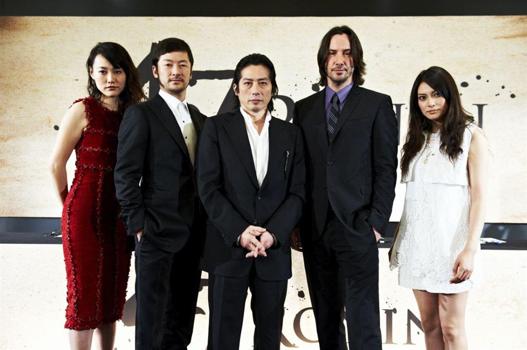47 Ronins : Vignette (magazine) Hiroyuki Sanada, Keanu Reeves, Rinko Kikuchi, Tadanobu Asano