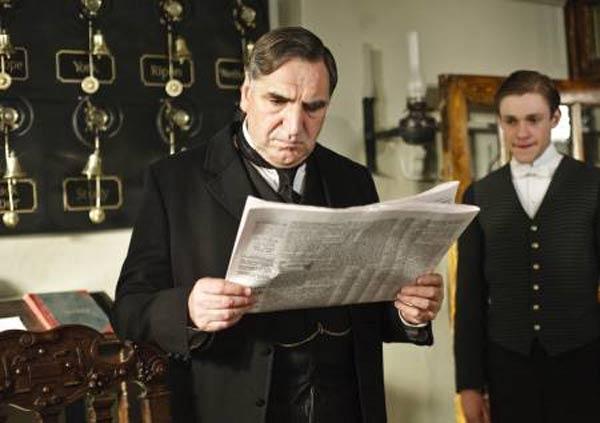 Downton Abbey : Foto Jim Carter, Thomas Howes