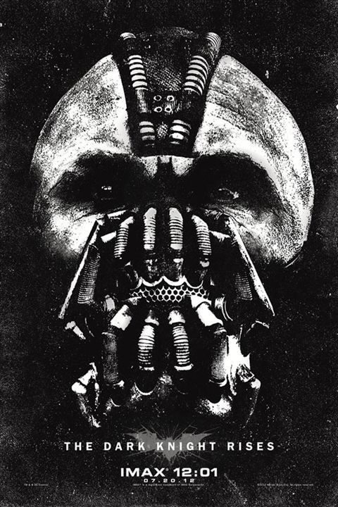 Batman - O Cavaleiro das Trevas Ressurge : Poster