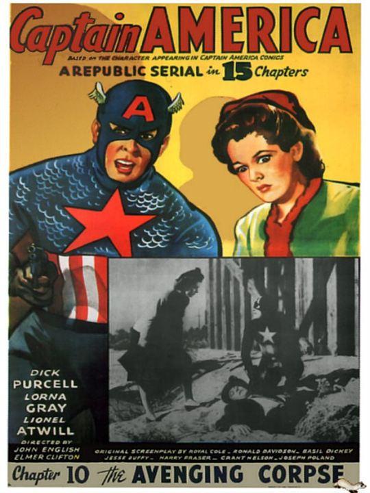 Capitão América : Poster