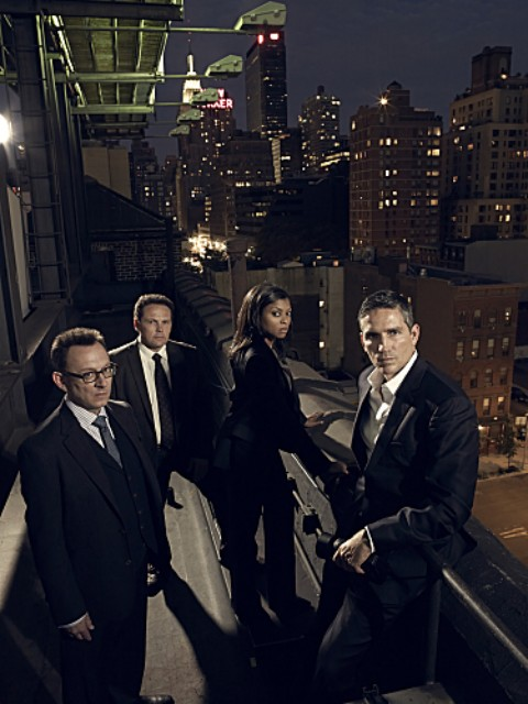 Foto Jim Caviezel, Kevin Chapman, Michael Emerson, Taraji P. Henson