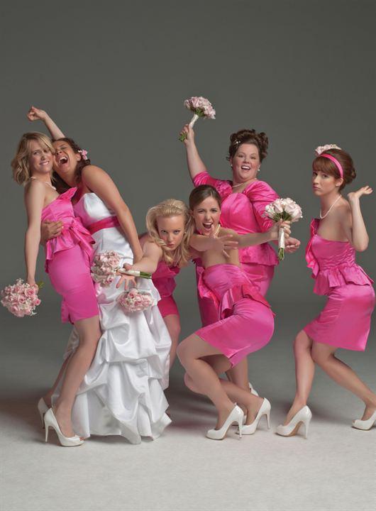 Missão Madrinha de Casamento : Foto Ellie Kemper, Kristen Wiig, Maya Rudolph, Melissa McCarthy, Rose Byrne