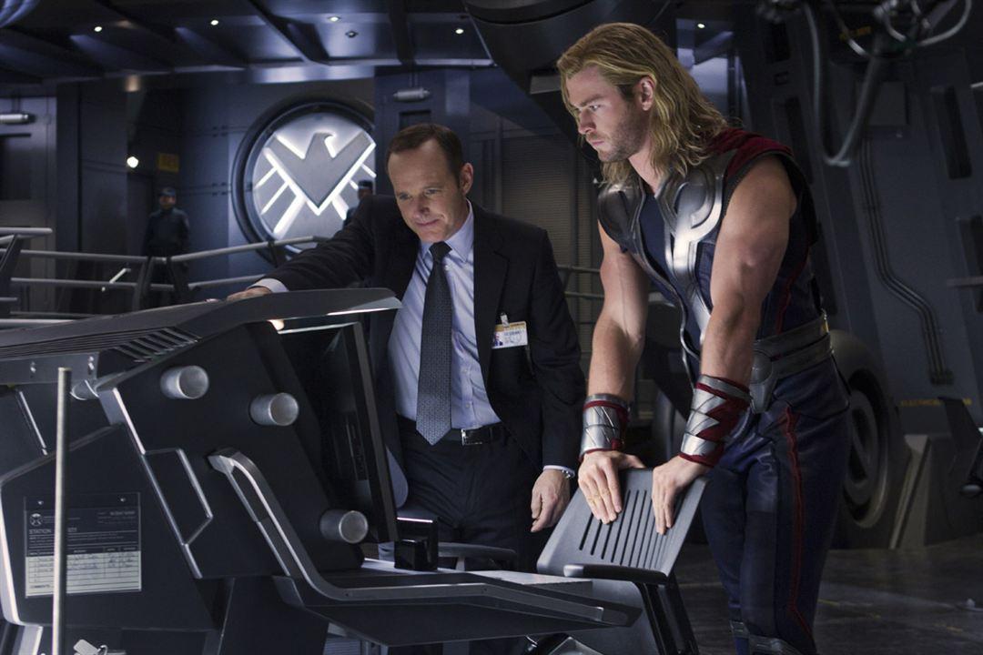 Os Vingadores - The Avengers : Foto Chris Hemsworth, Clark Gregg
