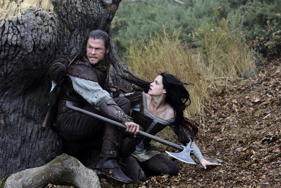 Branca de Neve e o Caçador : Foto Chris Hemsworth, Kristen Stewart