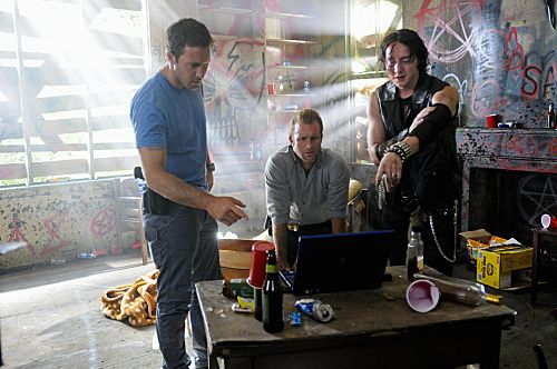 Foto Alex O'Loughlin, Chris Coy, Scott Caan