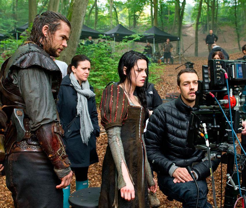 Branca de Neve e o Caçador : Foto Chris Hemsworth, Kristen Stewart, Rupert Sanders