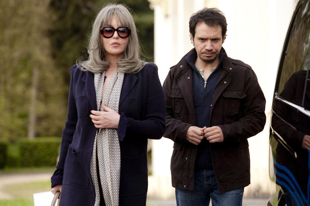 David et Madame Hansen : Foto Alexandre Astier, Isabelle Adjani
