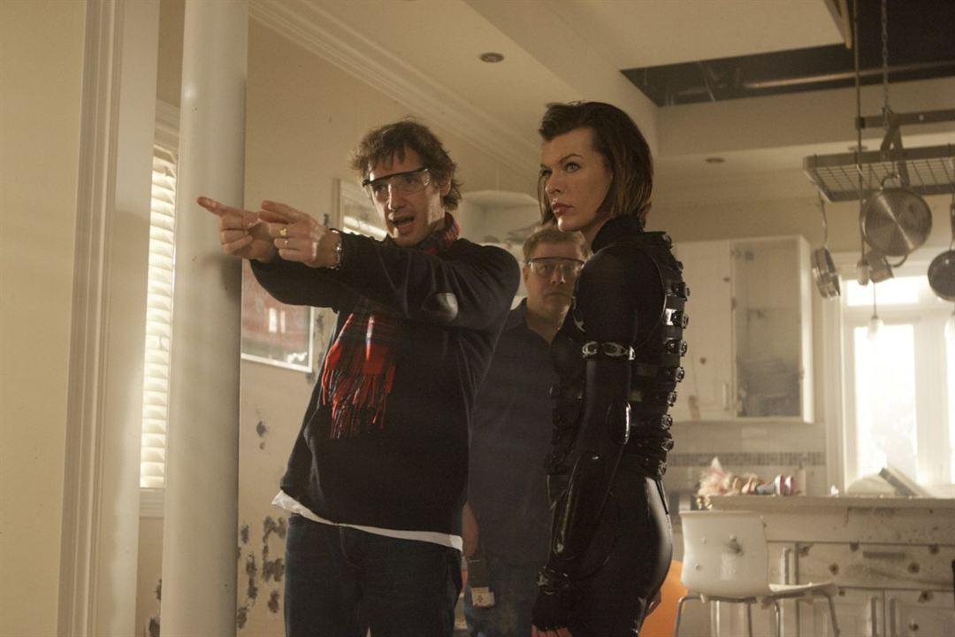 Resident Evil 5: Retribuição : Foto Milla Jovovich, Paul W.S. Anderson