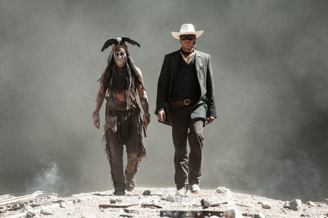 O Cavaleiro Solitário : Foto Armie Hammer, Johnny Depp