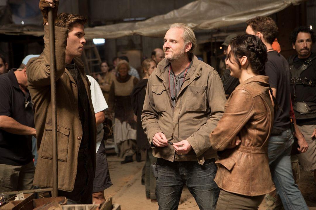 Jogos Vorazes - Em Chamas : Foto Francis Lawrence, Jennifer Lawrence, Liam Hemsworth