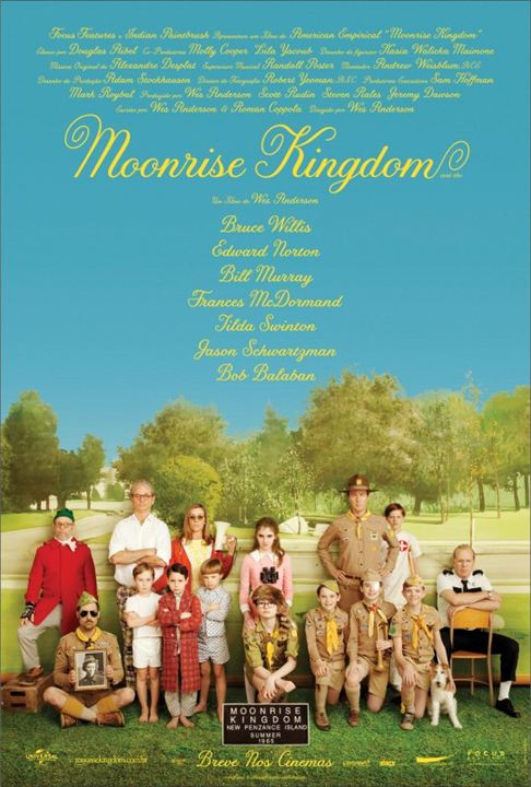 Moonrise Kingdom : poster