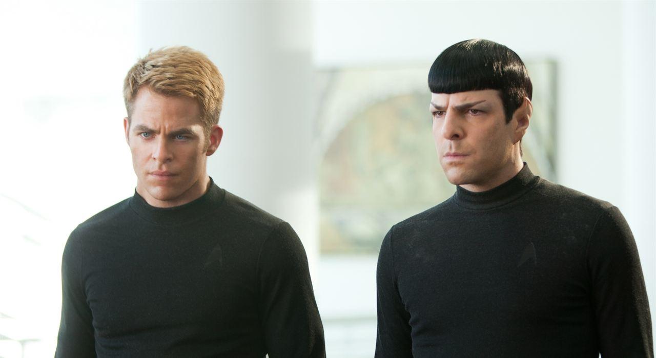 Além da Escuridão - Star Trek : Foto Chris Pine, Zachary Quinto