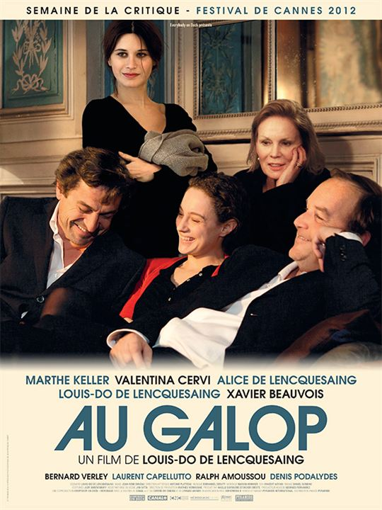 À Galope : Poster