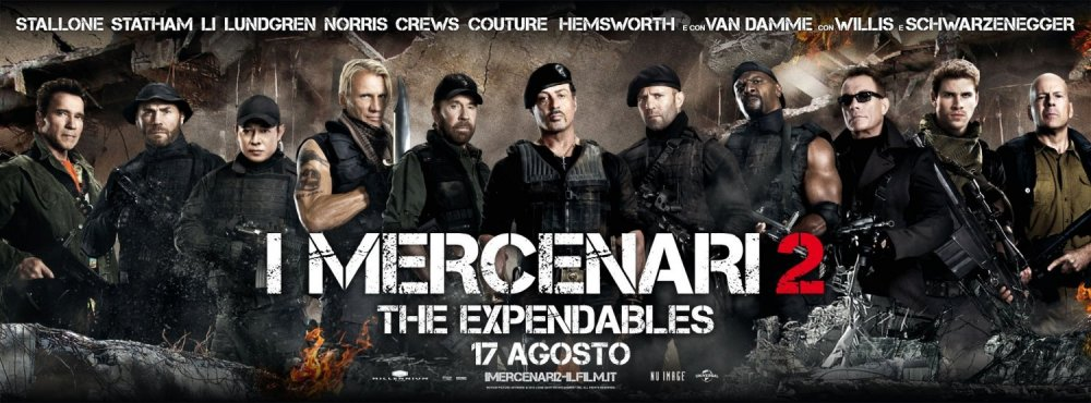 Os Mercenários 2 : Poster