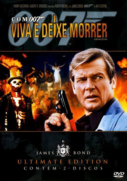 Com 007 Viva e Deixe Morrer : poster