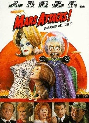 Marte Ataca! : Poster