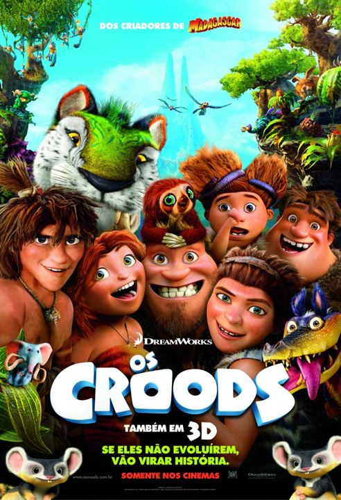 Os Croods : Poster