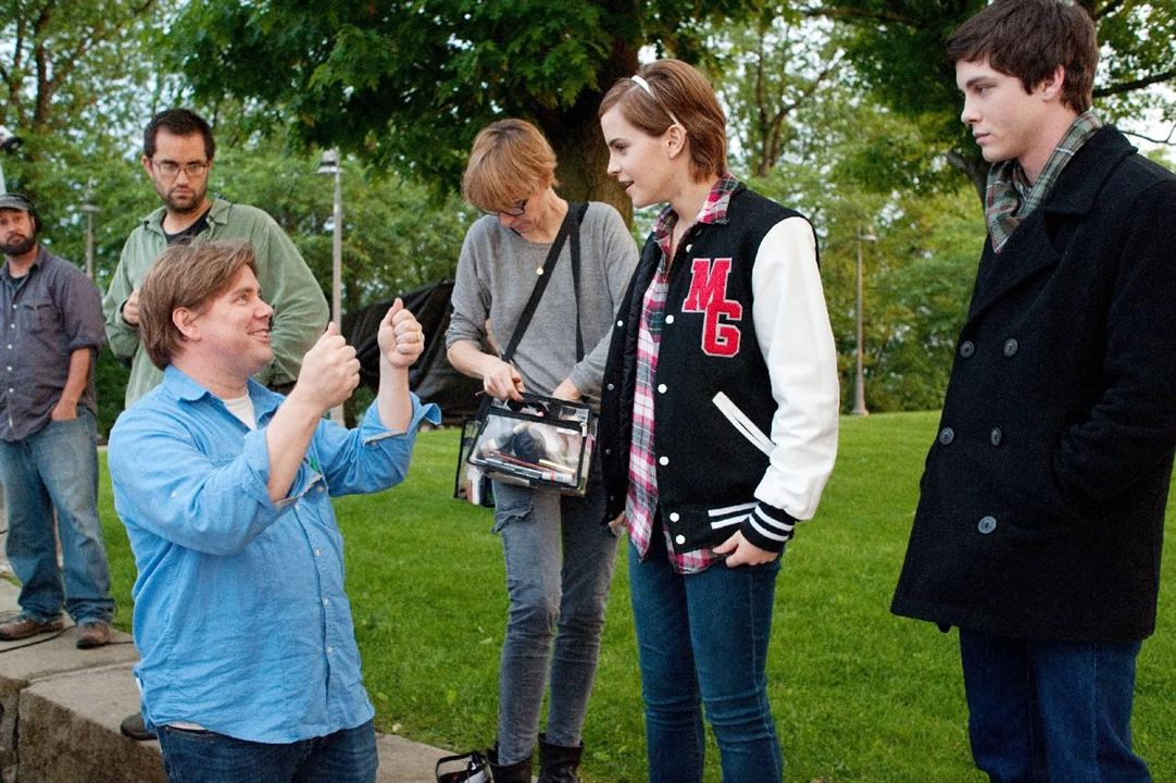 As Vantagens de Ser Invisível : Foto Emma Watson, Logan Lerman, Stephen Chbosky