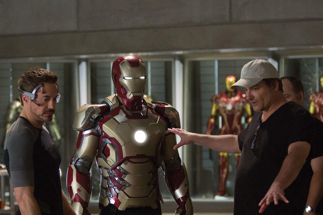 Homem de Ferro 3 : Foto Robert Downey Jr., Shane Black