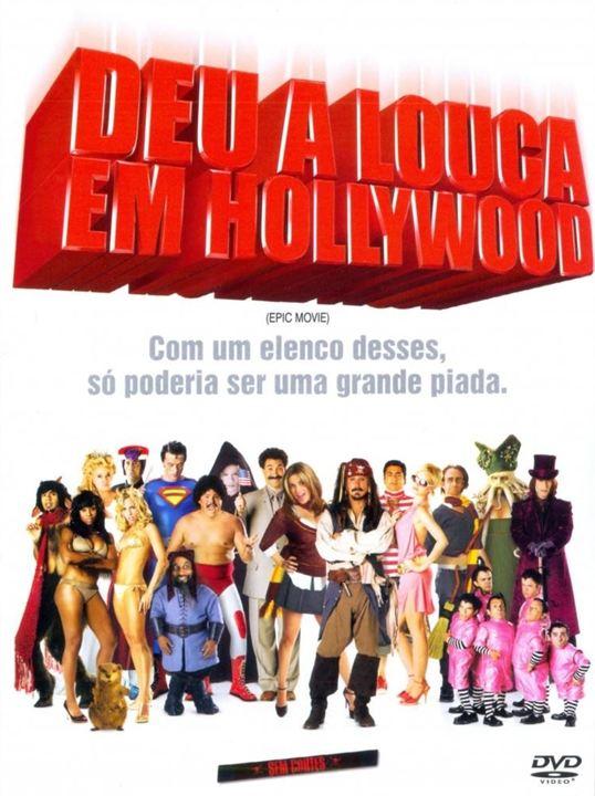 Deu a Louca em Hollywood : Poster